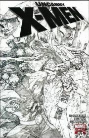 Uncanny X-Men #475 Billy Tan Sketch Retail Incentive Variant 1:25 Marvel comic book